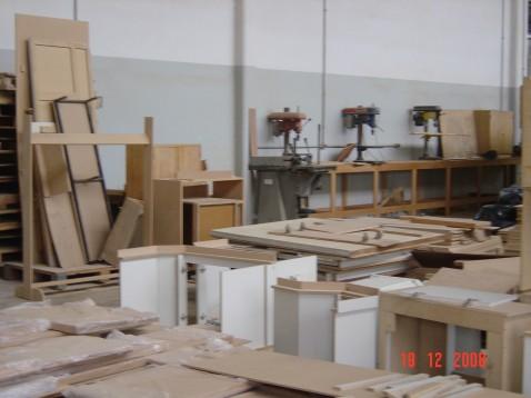 Instalações da Seção de Marcenaria no Bairro do Jaguaré. Foto: acervo TRT-2.
